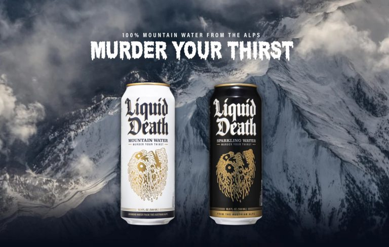 Canned Water Startup, Liquid Death Raised $9M in Series A