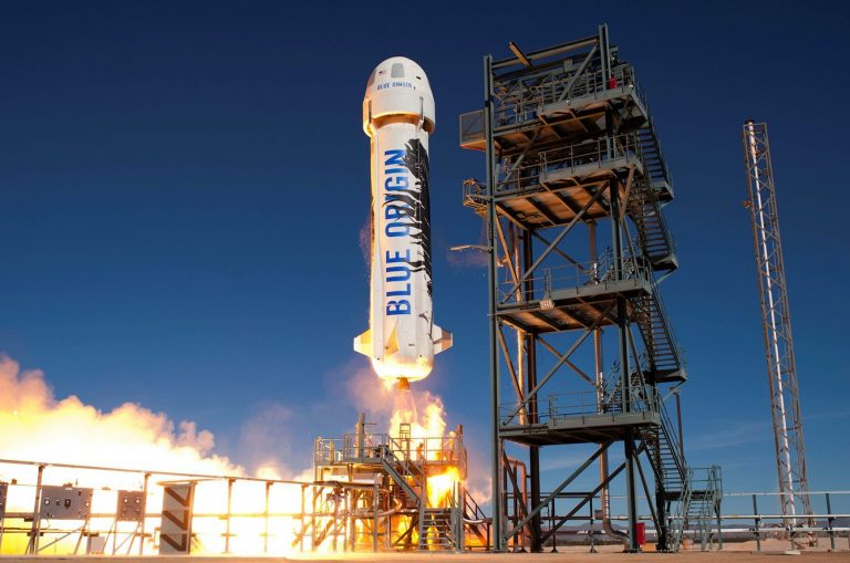 Blue Origin To Simulate Lunar Gravity on Rocket Launches for NASA